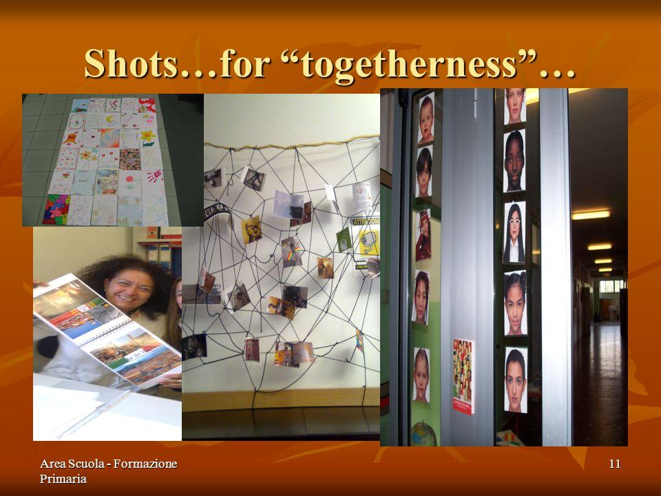 Area Scuola - Formazione Primaria 11 Shots…for togetherness…