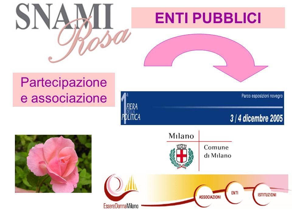 Partecipazione e associazione ENTI PUBBLICI