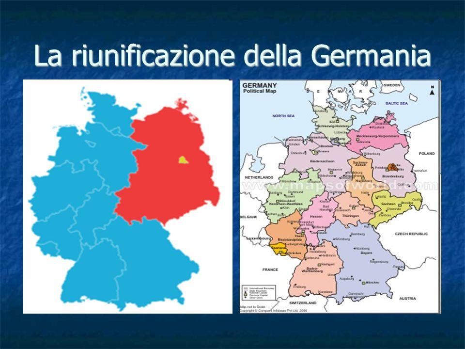 La riunificazione della Germania