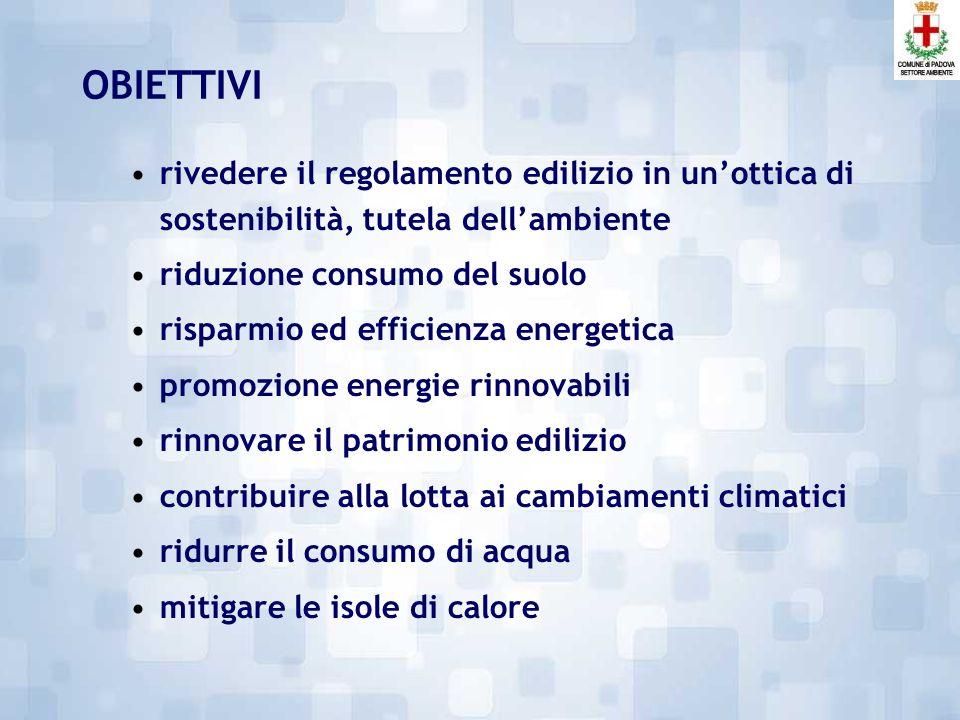 Il regolamento di sostenibilità energetica: il risultato del percorso partecipato di PadovA21 GT Regolamento di Sostenibilità Energetica Daniela Luise - Comune di Padova, Settore Ambiente 29 Ottobre 2013