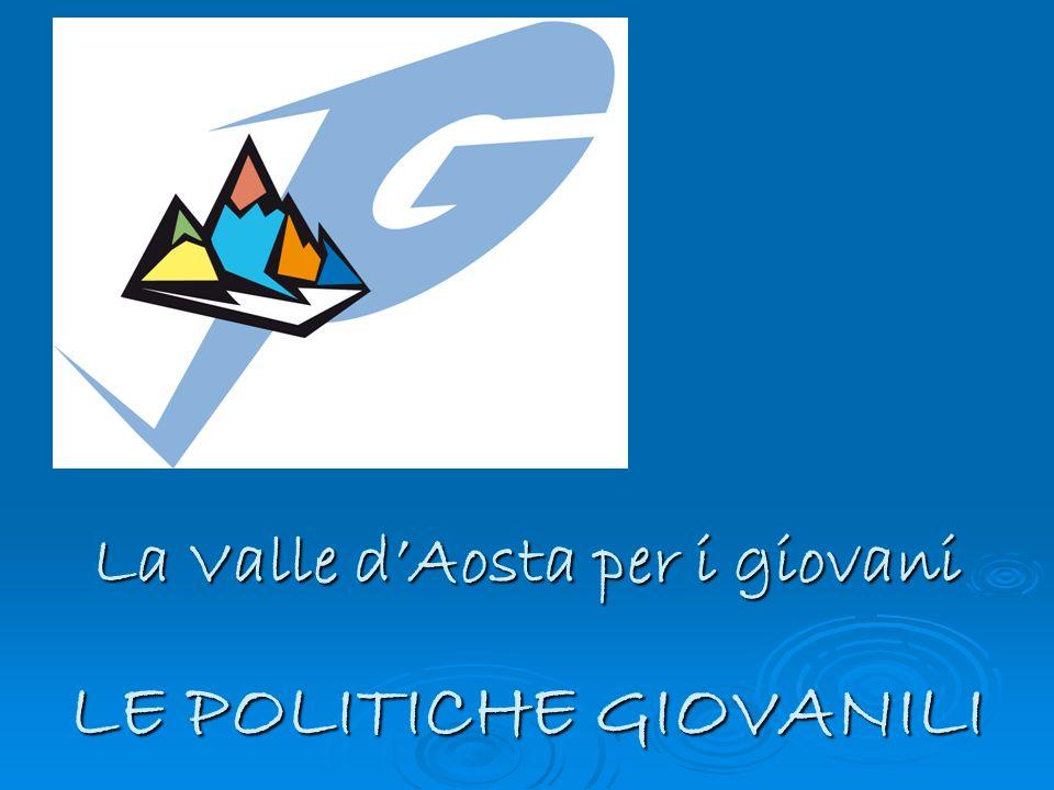 LE POLITICHE GIOVANILI La Valle dAosta per i giovani