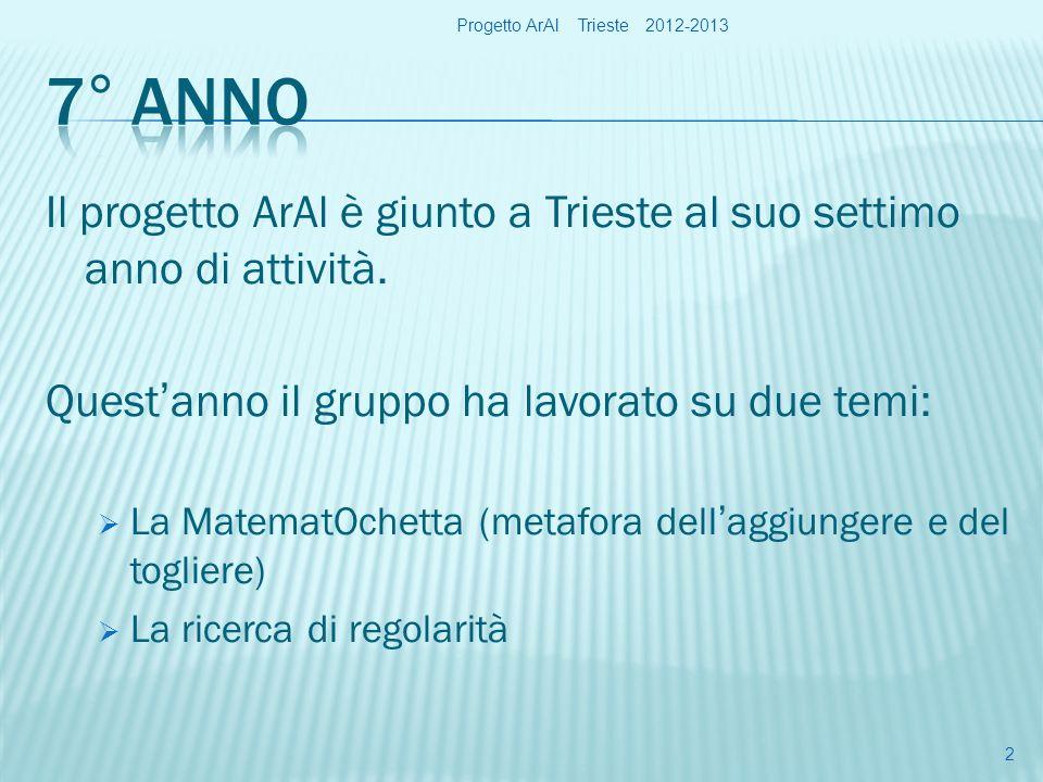 Progetto ArAl Trieste 2012-2013 13