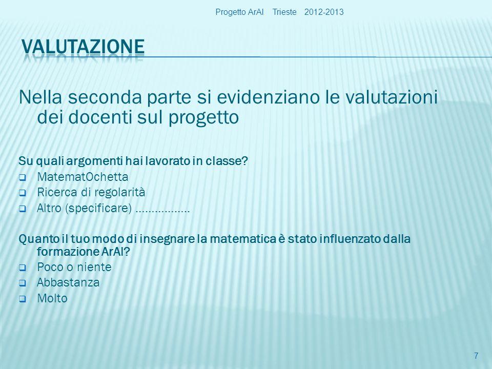 Progetto ArAl Trieste 2012-2013 18