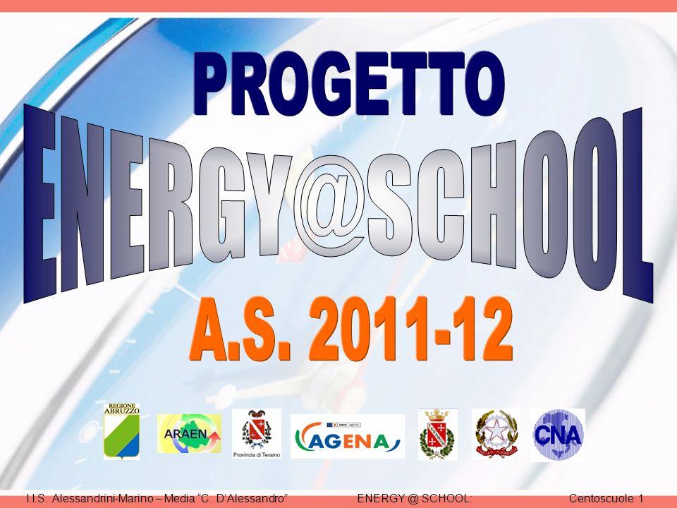 ENERGY @ SCHOOL:Centoscuole 1I.I.S. Alessandrini-Marino – Media C. DAlessandro
