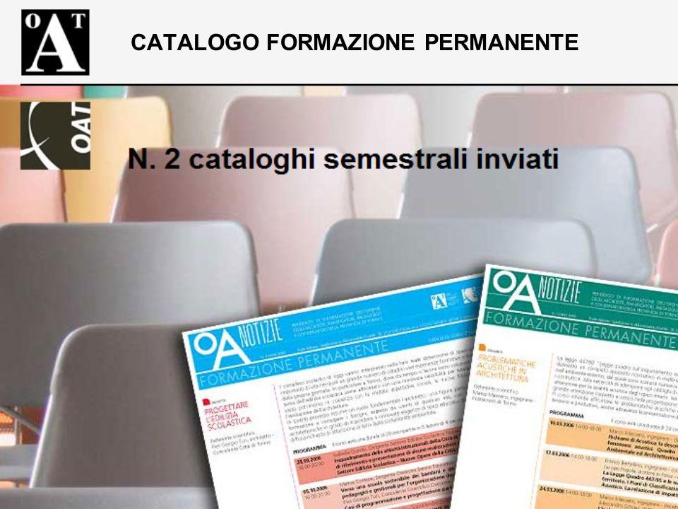 CATALOGO FORMAZIONE PERMANENTE