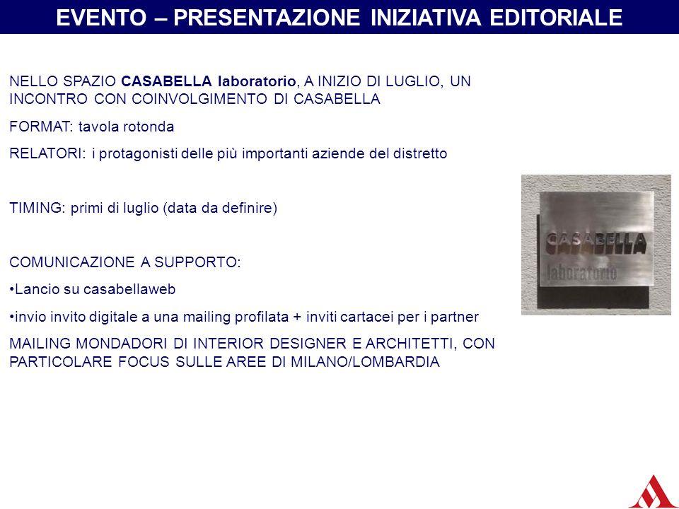 Casabella laboratorio si trova nel centro di Milano in via Marco Polo 13 Uno spazio pensato per dar vita a mostre, eventi, incontri organizzati da Casabella