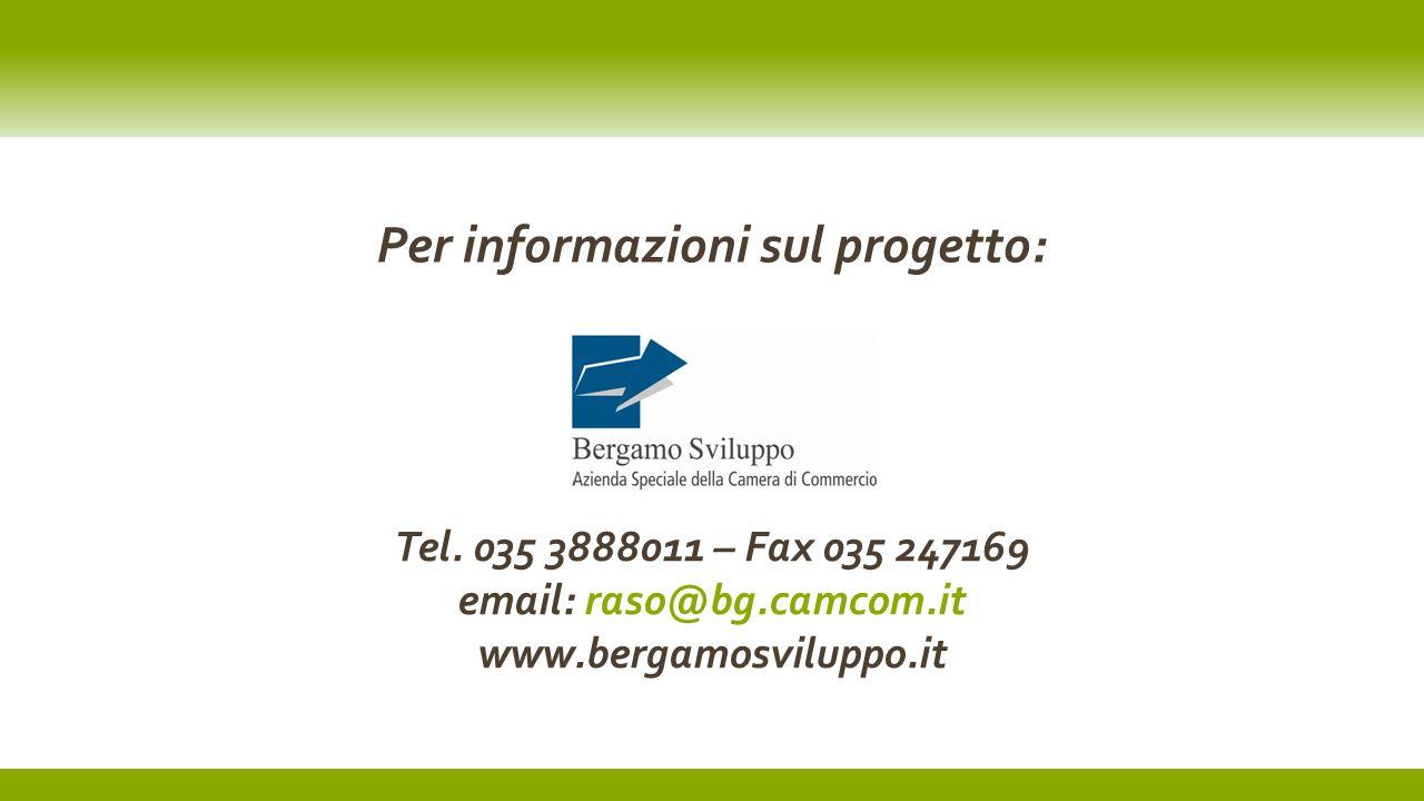 22 luglio 2012Testo del piè di pagina14 Per informazioni sul progetto: Tel.