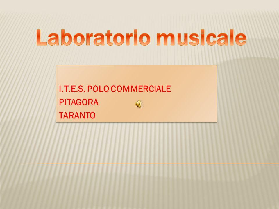 I.T.E.S. POLO COMMERCIALE PITAGORA TARANTO I.T.E.S. POLO COMMERCIALE PITAGORA TARANTO