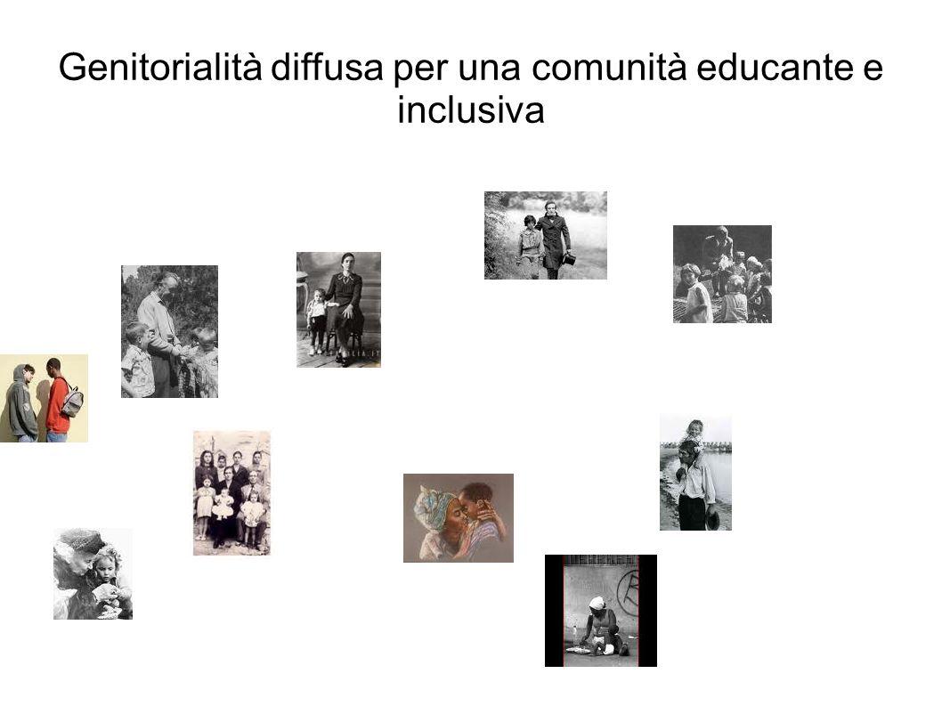 Genitorialità diffusa per una comunità educante e inclusiva