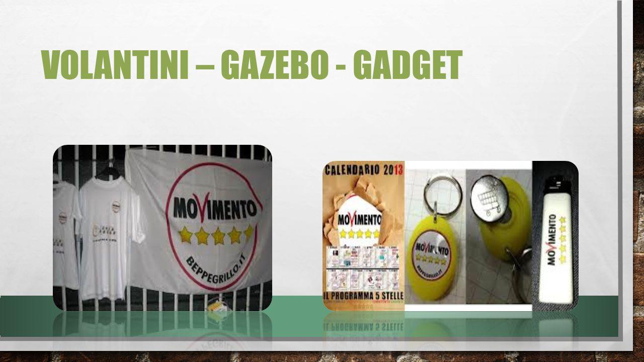 VOLANTINI – GAZEBO - GADGET
