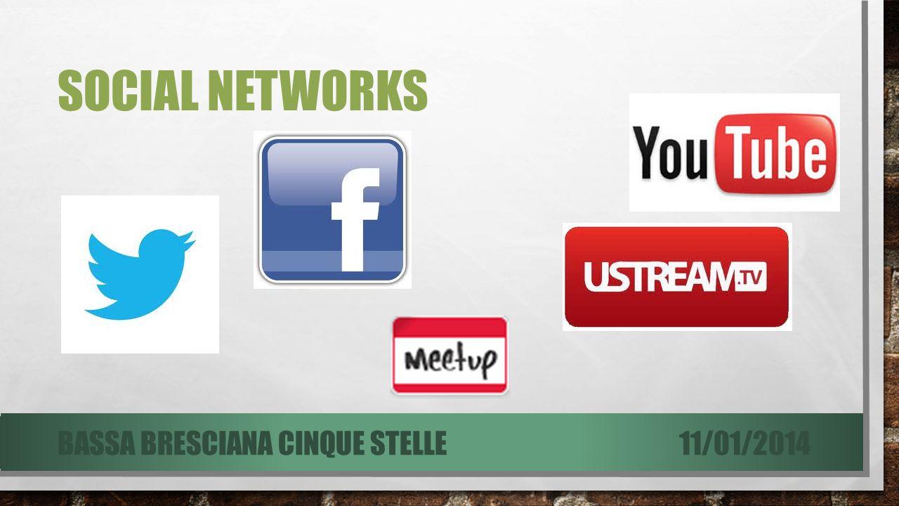 SOCIAL NETWORKS 11/01/2014BASSA BRESCIANA CINQUE STELLE