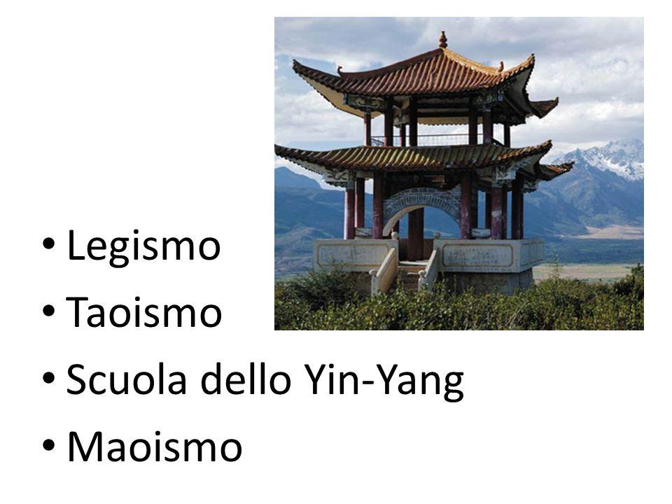 Legismo Taoismo Scuola dello Yin-Yang Maoismo