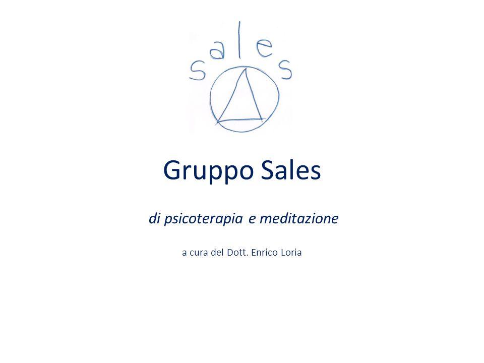 Gruppo Sales di psicoterapia e meditazione a cura del Dott. Enrico Loria