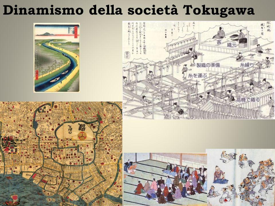 Dinamismo della società Tokugawa