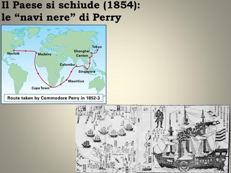 Il Paese si schiude (1854): le navi nere di Perry