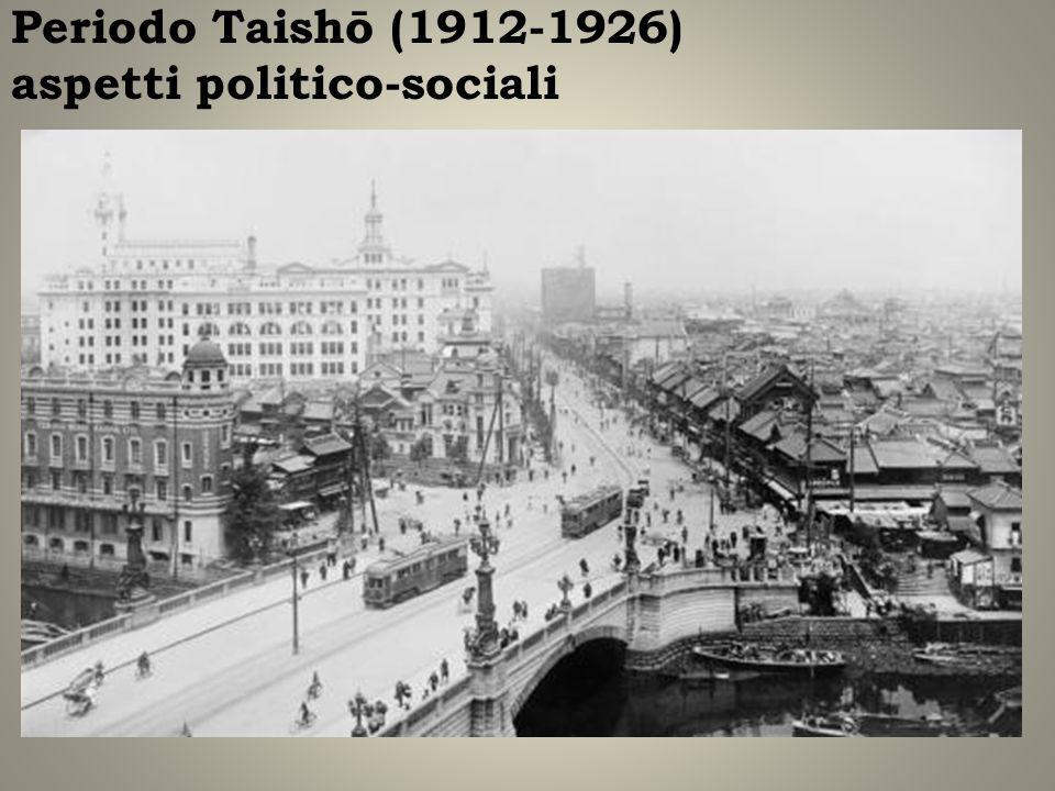 Periodo Taishō (1912-1926) aspetti politico-sociali
