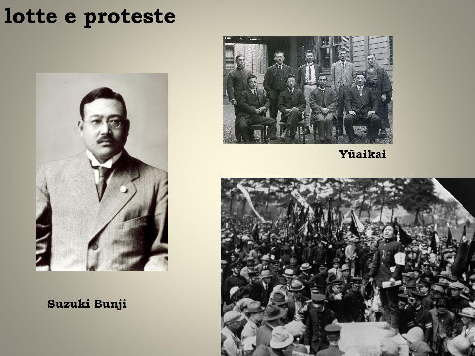 lotte e proteste Suzuki Bunji Yūaikai