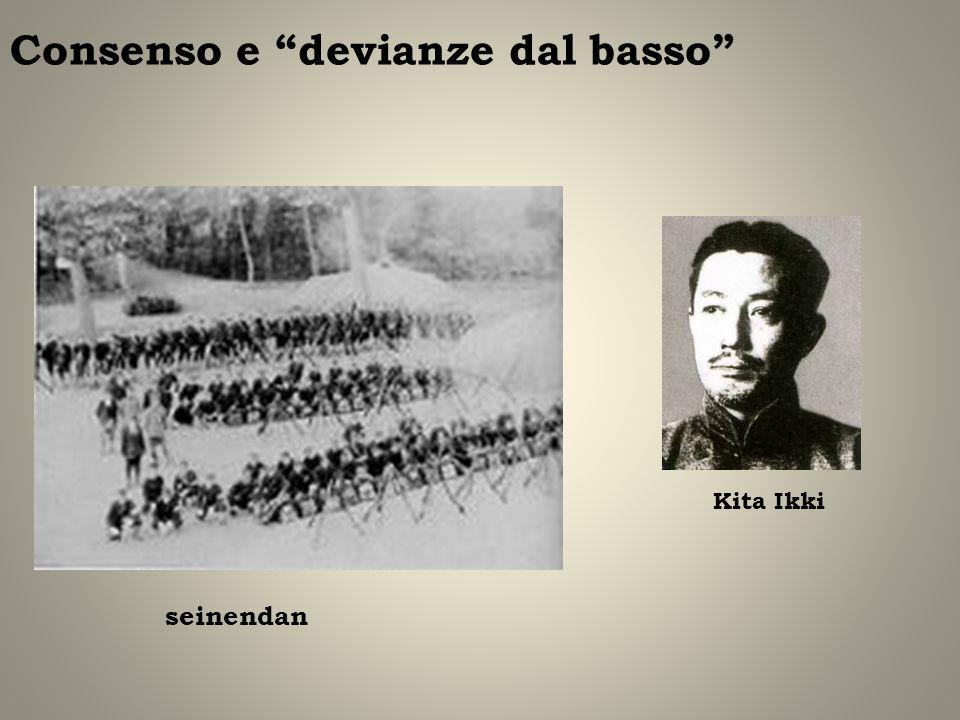 Consenso e devianze dal basso seinendan Kita Ikki
