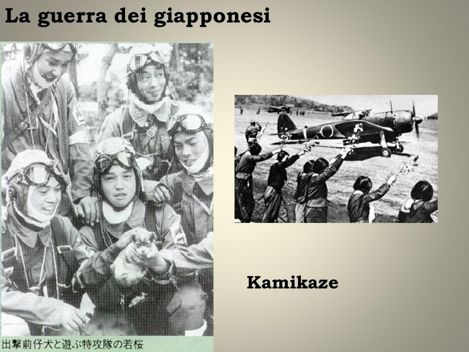 Kamikaze La guerra dei giapponesi