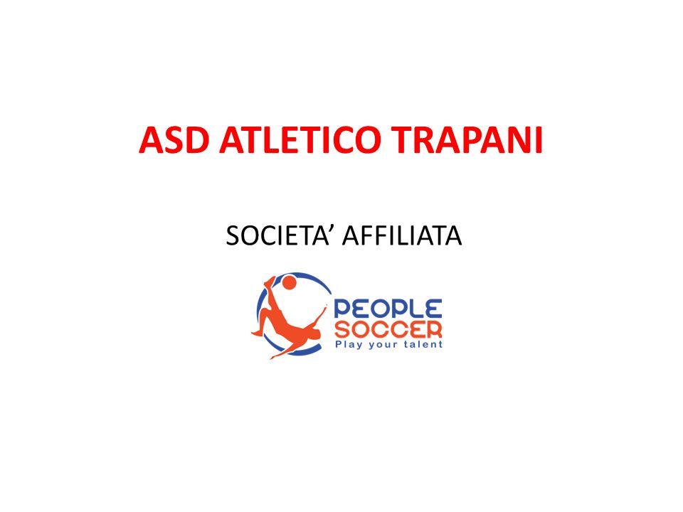 ASD ATLETICO TRAPANI SOCIETA AFFILIATA