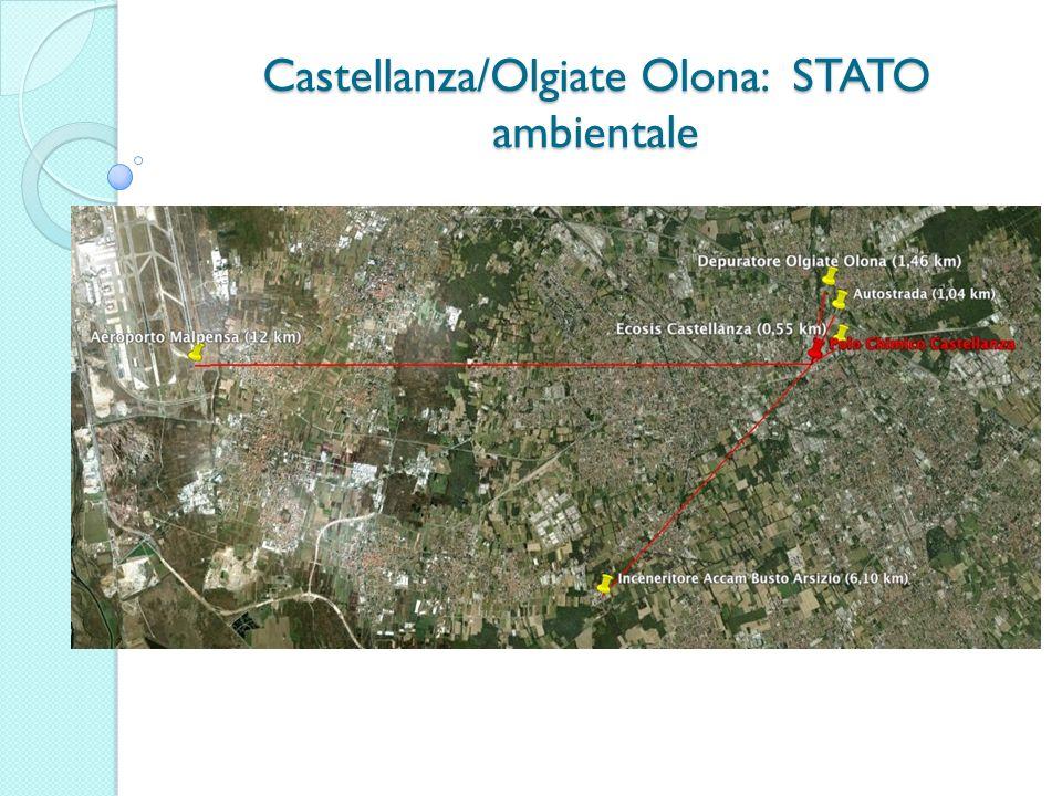 Castellanza/Olgiate Olona: STATO ambientale