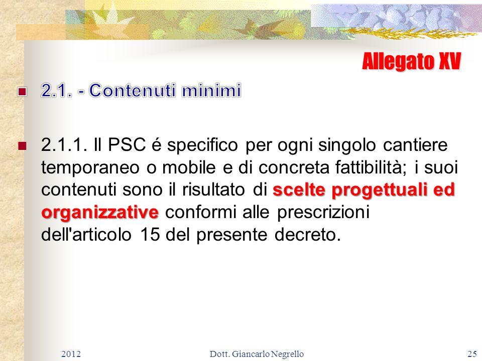 Allegato XV 201225Dott. Giancarlo Negrello