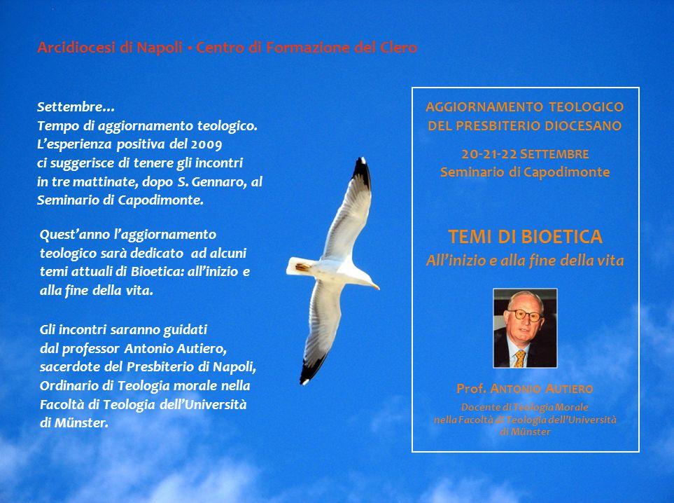 Settembre… Tempo di aggiornamento teologico.