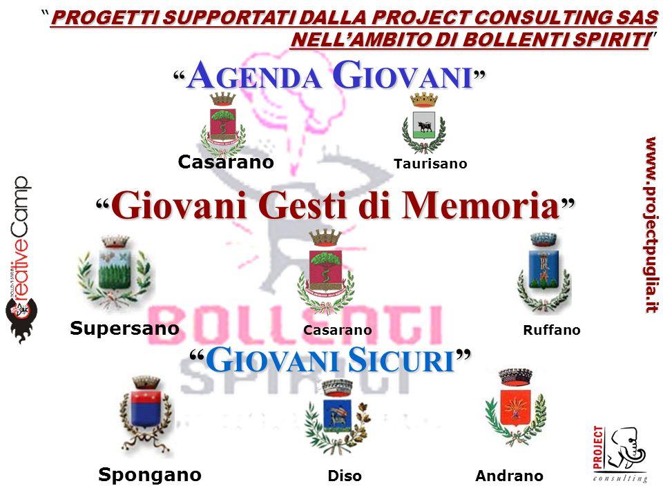 www.projectpuglia.it PERCHE UNA RETE.