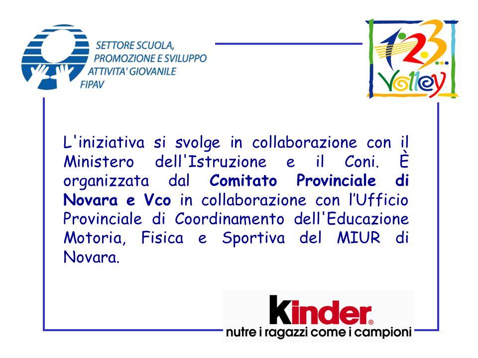 L iniziativa si svolge in collaborazione con il Ministero dell Istruzione e il Coni.