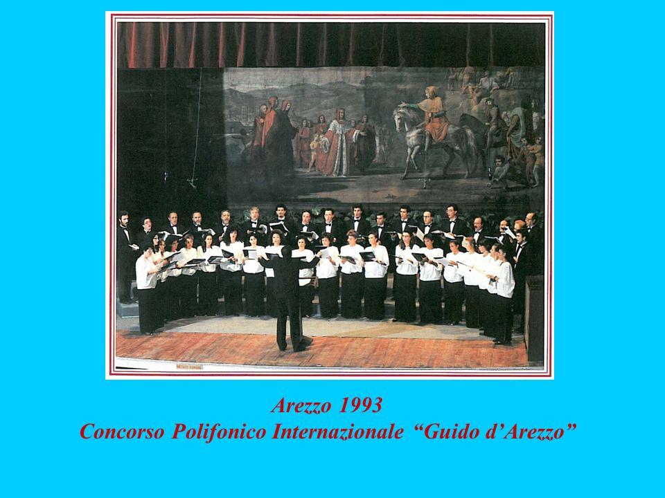 Arezzo 1993 Concorso Polifonico Internazionale Guido dArezzo