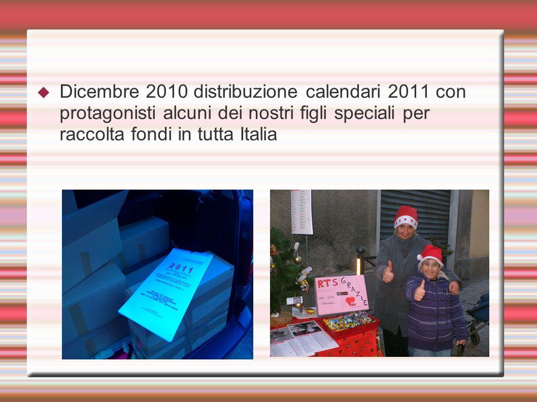 Dicembre 2010 distribuzione palline di Natale RTS per raccolta fondi Dicembre 2010 aperitivo di beneficenza a Como realizzato da Sonia con il grande aiuto della Dott.ssa Donatella Milani