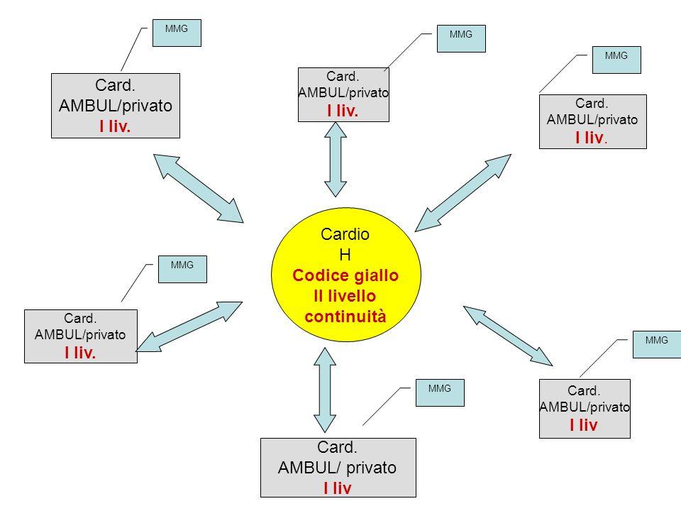 Cardio H Codice giallo II livello continuità Card.