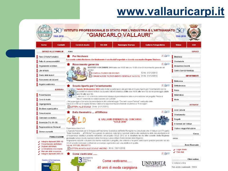 Studenti Iscritti a.s. 2010/11 480 ClassiNumero Prime6 Seconde6 Terze4 Quarte4 Quinte4