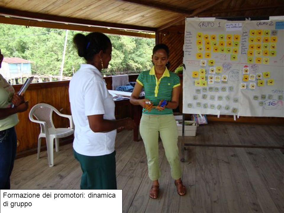 Formazione dei promotori: dinamica di gruppo