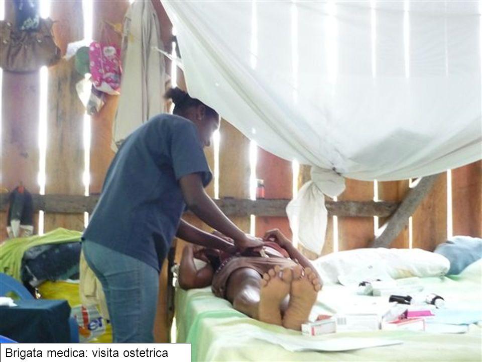 Brigata medica: visita ostetrica