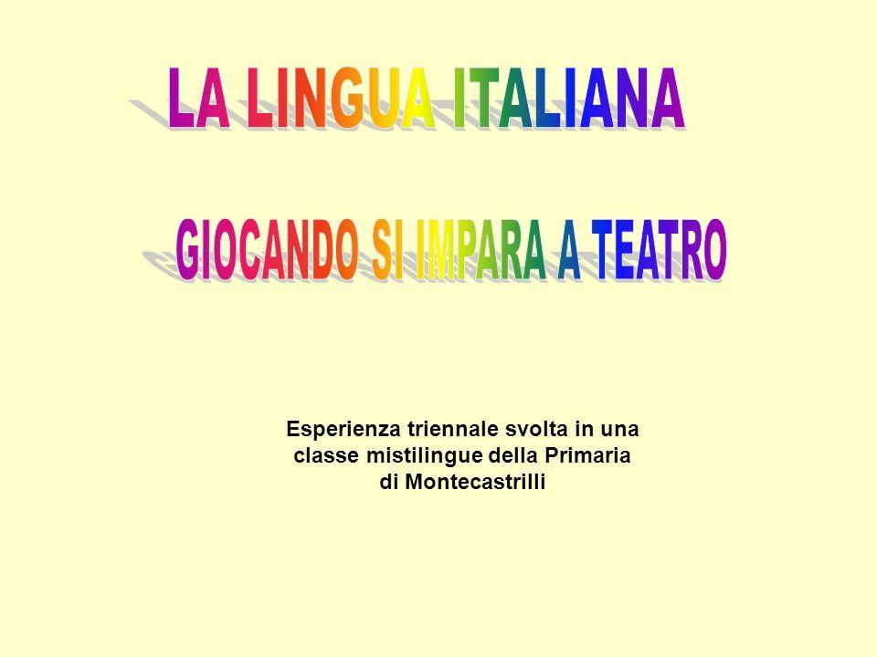 Esperienza triennale svolta in una classe mistilingue della Primaria di Montecastrilli