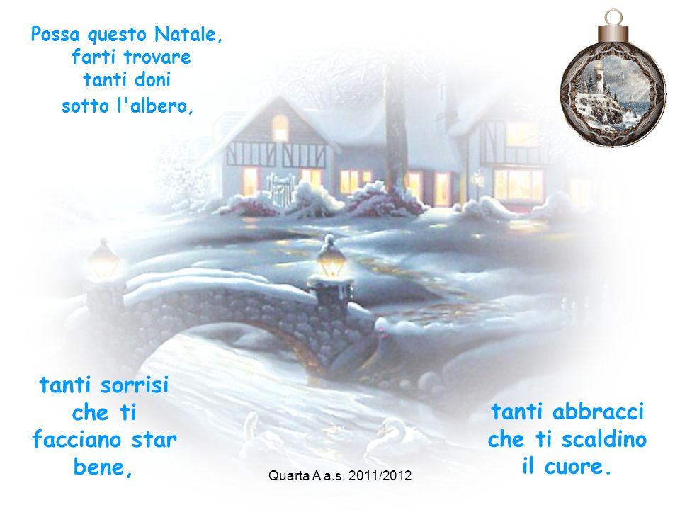 Il Natale riesca a cancellare: le incomprensioni, l'indifferenza, la cattiveria, lasciando posto a una grande apertura di cuore e alla voglia di donar