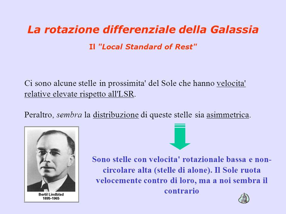 La rotazione differenziale della Galassia Il