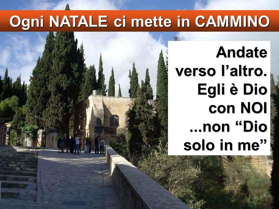 Lc 1,39-45 In quei giorni Maria si alzò e andò in fretta verso la regione montuosa, in una città di Giuda.