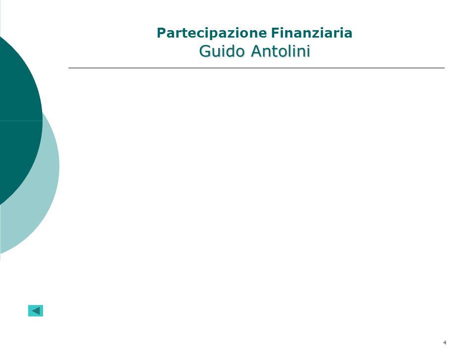 4 Guido Antolini Partecipazione Finanziaria Guido Antolini