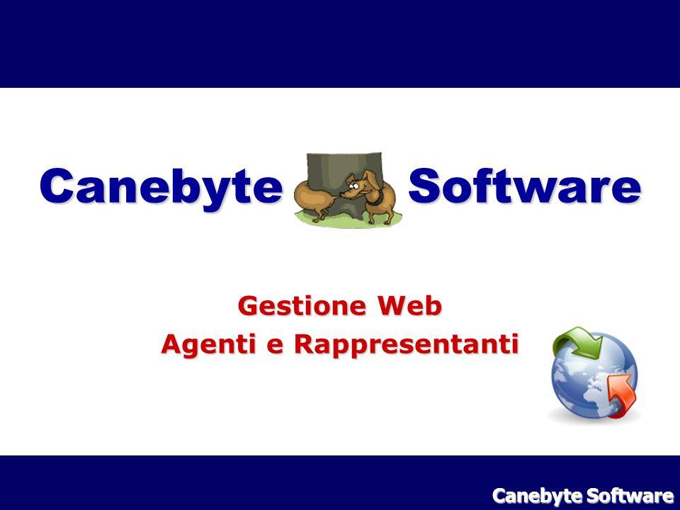 Canebyte Software Gestione Web Agenti e Rappresentanti Canebyte Software