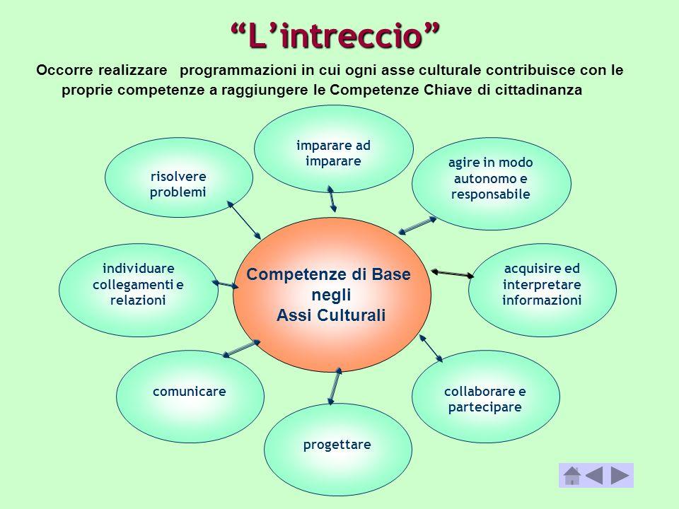 Lintreccio individuare collegamenti e relazioni agire in modo autonomo e responsabile acquisire ed interpretare informazioni risolvere problemi collab