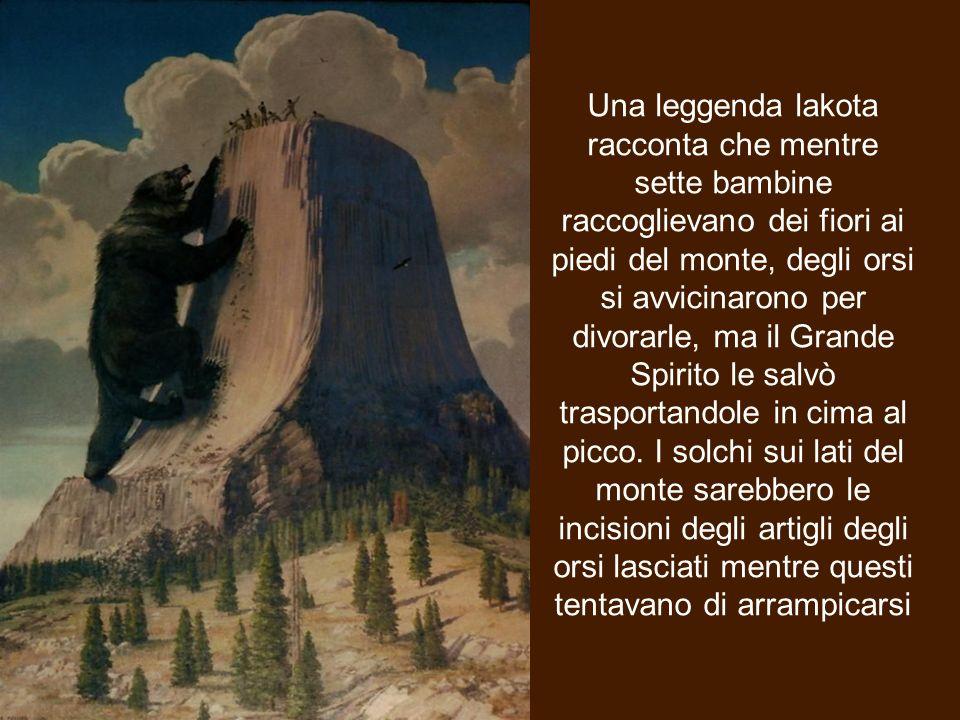La Torre del Diavolo (in lakota: Mato Tipila, che significa