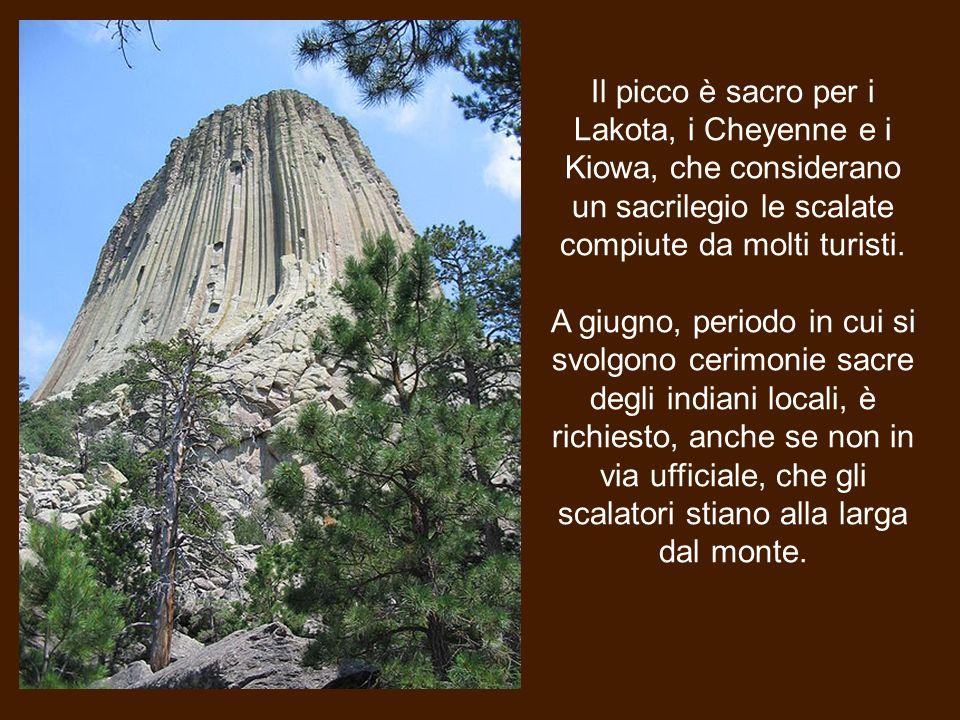 Una leggenda lakota racconta che mentre sette bambine raccoglievano dei fiori ai piedi del monte, degli orsi si avvicinarono per divorarle, ma il Gran