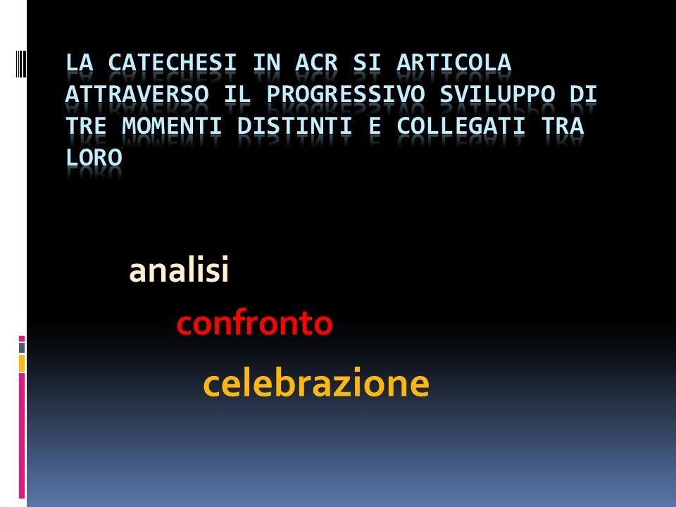 analisi confronto celebrazione