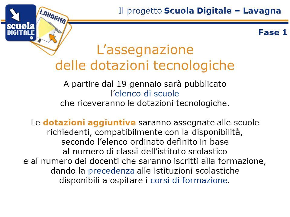 Linstallazione delle lavagne Il kit assegnato comprende: 1 lavagna digitale con relativo sistema di proiezione 1 computer ll software associato alla lavagna per la creazione di attività e la gestione di risorse didattiche.