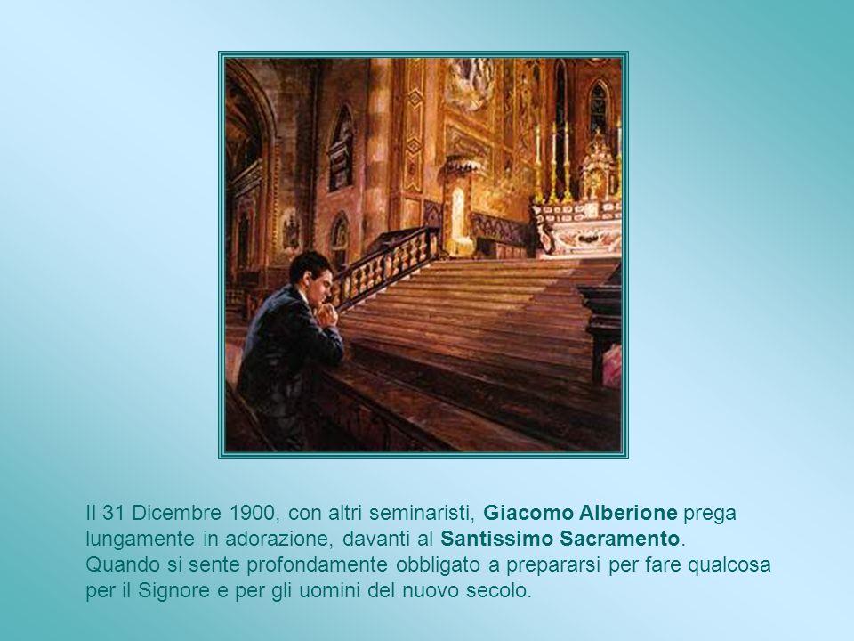 Alfred riceve l abito religioso il 27 Dicembre 1870. Il prete che presiede dice : Alfred Bessette, ormai, vi chiamerete fratello André. Non sospetta c