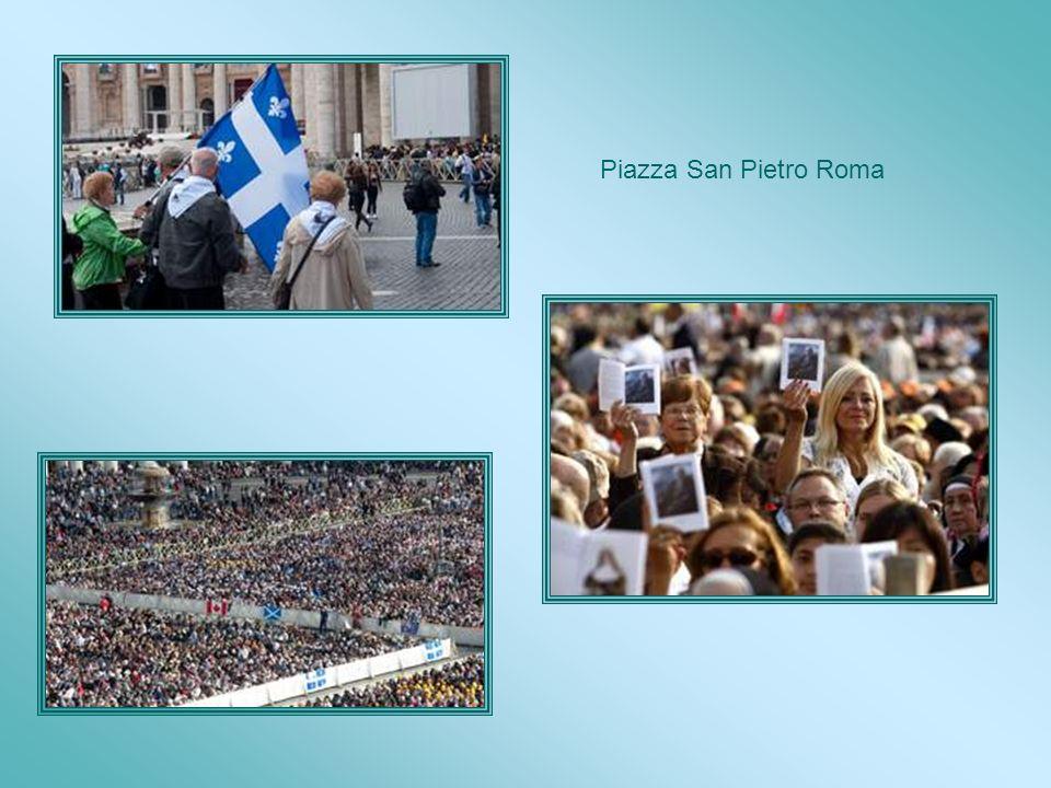 Celebrazione Eucaristica di Papa Benedetto XVI e del cardinale Jean-Claude Turcotte in occasione della canonizzazione, Il 17 Ottobre 2010, Piazza San