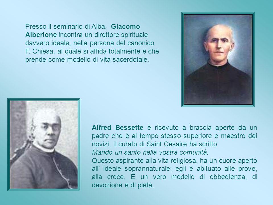 In autunno 1870, Alfred prende la strada per Montréal. Il noviziato dei religiosi di Santa Croce si è appena trasferito alla nuova struttura inaugurat