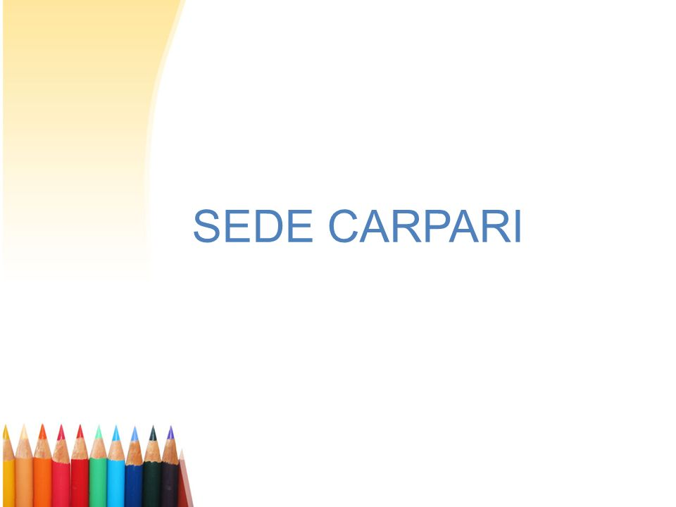 SEDE CARPARI